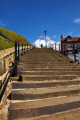 abbey steps whitby north yorkshire british seaside coastal resorts leisure uk tourist attraction harbour east cliff england english angleterre inghilterra inglaterra great britain united kingdom grande-bretagne grande bretagne grandebretagne großbritannien gran bretagna bretaña