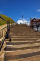 abbey steps whitby north yorkshire british seaside coastal resorts leisure uk tourist attraction harbour east cliff england english angleterre inghilterra inglaterra great britain united kingdom grande-bretagne grande bretagne grandebretagne großbritannien gran bretagna bretaña