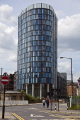 new building constructed city centre sheffield south yorkshire british architecture architectural buildings uk construction build modern united kingdom