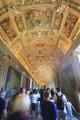 corridor vatican city museums rome lazio italian european travel religion pope roof roma roman italy italien italia italie europe united kingdom british