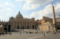 st peters square. rome lazio italian european travel religion church stonework roma roman italy italien italia italie europe united kingdom british