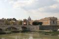 view st petes dome river tiber rome lazio italian european travel religion rooftops roma roman italy italien italia italie europe united kingdom british