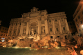 trevvi fountain night. rome lazio italian european travel statues water feature roma roman italy italien italia italie europe united kingdom british