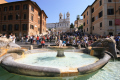 spanish steps rome lazio italian european travel fountain roma roman italy italien italia italie europe united kingdom british