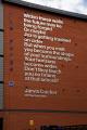 poetry written jarvis cocker shelf 2005 displayed wall building sheffield south yorkshire murals arts misc. england english angleterre inghilterra inglaterra great britain united kingdom british uk grande-bretagne grande bretagne grandebretagne großbritannien gran bretagna bretaña