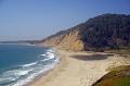 waddel creek beach pacific coast south san francisco. california american yankee travel santa cruz highway pch californian usa united states america