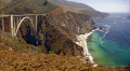 bixby creek bridge california big sur. carmel american yankee travel pacific coast highway sur cabrillo pch californian usa united states america