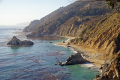 coastline julia pfeiffer burns state park big sur california american yankee travel cabrillo highway pacific coast pch little californian usa united states america