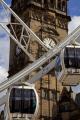 ferris wheel ride fargate city centre sheffield south yorkshire fairground carnival fairs leisure uk attraction precinct england english angleterre inghilterra inglaterra great britain united kingdom british grande-bretagne grande bretagne grandebretagne großbritannien gran bretagna bretaña