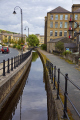 view huddersfield narrow canal slaithwaite yorkshire transport transportation uk waterway village towpath england english angleterre inghilterra inglaterra great britain united kingdom british grande-bretagne grande bretagne grandebretagne großbritannien gran bretagna bretaña