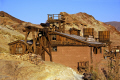 maggie mining building calico ghost town california. california american yankee travel western wild west minerals californian usa united states america
