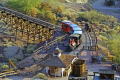 calico ghost town train california. california american yankee travel western wild west mining minerals californian usa united states america
