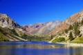 lundy lake sierra nevadas wilderness natural history nature california mountains angling fishing alpine pristine fishermen californian united states american