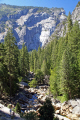 yosemite national park looking merced valley mist trail wilderness natural history nature misc. california sierra nevadas river mountains alpine np californian usa united states america american