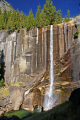 yosemite national park vernal falls late summer taken mist trail wilderness natural history nature misc. california sierra nevadas river mountains alpine rainbow np californian usa united states america american