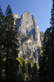 yosemite national park cathedral rocks valley floor. wilderness natural history nature misc. california sierra nevadas river mountains alpine np californian usa united states america american