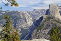 yosemite national park half dome valley glacier point. wilderness natural history nature misc. california sierra nevadas river mountains alpine np californian usa united states america american