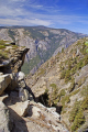 yosemite national park fissures near taft point wilderness natural history nature misc. california sierra nevadas mountains alpine np panorama overlook view californian usa united states america american