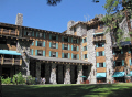 yosemite national park ahwahnee hotel grounds california american yankee travel sierra nevadas mountains alpine np californian usa united states america