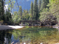 yosemite national park merced river grounds ahwahnee hotel california american yankee travel sierra nevadas mountains alpine np californian usa united states america