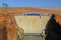 glen canyon bridge dam overlook near page arizona. arizona american yankee travel lake powell hydro-electric hydro electric hydroelectric generating electricity renewable colorado river usa united states america