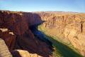 glen canyon colorado river overlook near page arizona. arizona american yankee travel lake powell hydro-electric hydro electric hydroelectric generating electricity renewable usa united states america