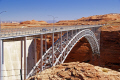 glen canyon bridge dam near page arizona. arizona american yankee travel lake powell hydro-electric hydro electric hydroelectric generating electricity renewable colorado river highway 89 usa united states america