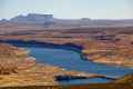lake powell navajo power station taken glen canyon dam near page arizona. arizona american yankee travel generating electricity colorado river highway 89 usa united states america