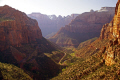 zion national park lower canyon panorama overlook trail. wilderness natural history nature misc. navajo sandstone geology cliffs exposure np scenic byway highway jurassic utah usa united states america american