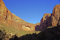 zion national park lower canyon arch taken road. wilderness natural history nature misc. navajo sandstone geology cliffs exposure np scenic byway highway jurassic utah usa united states america american