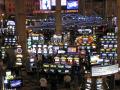 las vegas slot machines american yankee travel one-armed one armed onearmed bandits gambling casinos mormon nevada boulevard tropicana avenue nv usa united states america