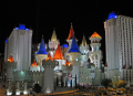 las vegas excalibur hotel casino night american yankee travel gambling casinos mormon nevada boulevard tropicana avenue camelot king arthur arthurian nv usa united states america