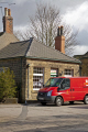 village post office wentworth south yorkshire rural britain countryside rustic pastoral environmental uk royal mail van local rotherham england english angleterre inghilterra inglaterra great united kingdom british grande-bretagne grande bretagne grandebretagne großbritannien gran bretagna bretaña