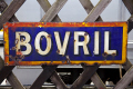 old bovril sign sheringham norfolk signs abstracts misc. rusty notice england english angleterre inghilterra inglaterra great britain united kingdom british uk grande-bretagne grande bretagne grandebretagne großbritannien gran bretagna bretaña