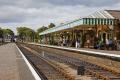 sheringham station nofolk uk railway stations railways railroads transport transportation north steam preserved route heritage united kingdom british