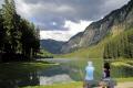 lac montriond french alps landscapes european travel glacial turquoise rock flour tranquil placid haute-savoie haute savoie hautesavoie mountains valley alpine rhône-alpes rhône alpes rhônealpes france la francia frankreich europe