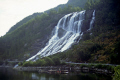 furebergfossen waterfall norway hardangerfjorden. waterfalls cascade cataracts geology geological science misc. norwegian norge bergen fjord kongeriket europe european norwegan