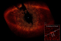 star fomalhaut toroidal debris ring. extra-solar extra solar extrasolar planet imaged visible light. space science misc. hst nasa astronomy cosmology gas giant piscis austrinus usa united states america american