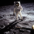iconic image buzz aldrin moon space science misc. apollo 11 mission lunar 1969 astronaut nasa usa united states america american