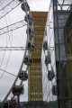 ferris wheel outside arndale shopping centre city manchester lancashire uk centres retailers trade centers commercial buildings british architecture architectural shops reflections attraction ride lancs england english angleterre inghilterra inglaterra great britain united kingdom grande-bretagne grande bretagne grandebretagne großbritannien gran bretagna bretaña