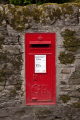 gr post box wall inderbyshire countryside rural environmental uk royal mail letter red derbyshire england english angleterre inghilterra inglaterra great britain united kingdom british grande-bretagne grande bretagne grandebretagne großbritannien gran bretagna bretaña
