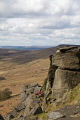 rock climbing face stanage edge derbyshire climbers extreme sports adrenaline sporting uk countryside peak district england english angleterre inghilterra inglaterra great britain united kingdom british grande-bretagne grande bretagne grandebretagne großbritannien gran bretagna bretaña