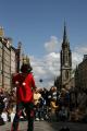 performing edingburgh fringe street performers buskers arts misc. juggling permance united kingdom british