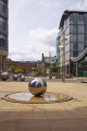 water features peace garden area sheffield south yorkshire abstracts misc. fountain redevelopment city centre united kingdom british