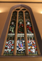 stained glass window. uk churches worship religion christian british architecture architectural buildings church ramshorn glasgow central scotland scottish scotch scots escocia schottland united kingdom