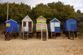 row beach huts wells sea unusual british buildings strange wierd wooden sand colourful holidays seaside norfolk england english angleterre inghilterra inglaterra united kingdom
