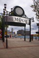 moor shopping precinct sheffield uk high streets towns environmental sign regeneration redevelopment demolition yorkshire england english angleterre inghilterra inglaterra united kingdom british