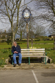 man sat seat wentworth south yorkshire men adult males masculine manlike manly manful virile mannish male lone solitary bench england english angleterre inghilterra inglaterra united kingdom british