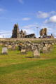 abbey st mary graveyard whitby north yorkshire uk abbeys churches worship religion christian british architecture architectural buildings gravestones seaside resort monstery ruins england english angleterre inghilterra inglaterra united kingdom