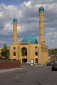 islamic centre sheffield south yorkshire uk mosques churches worship religion christian british architecture architectural buildings faith muslim suburbs minority ethnic temple england english angleterre inghilterra inglaterra united kingdom